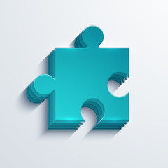 vector modern puzzle background.
