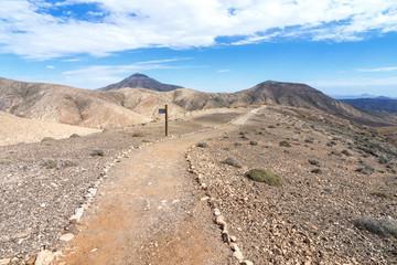Fuerteventura - Wanderweg im Cardon-Massiv