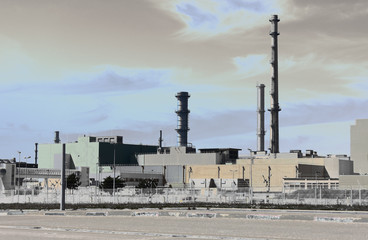 Nuclear fuel reprocessing plant