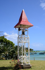 Mauritius, the picturesque village of Pereybere