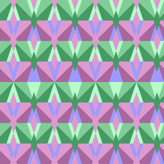 Seamless abstract triangle pattern