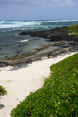 Mauritius, picturesque village of Roches Noires