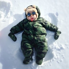 snow angel baby