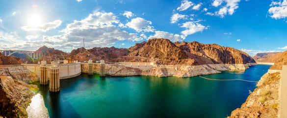 Panorame Hoover Dam