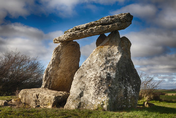 Sorginetxe dolmen in the Basque Country Spain