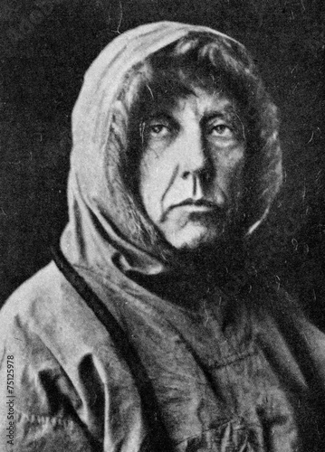 Fotobehang Antarctica Roald Amundsen, Norwegian explorer of polar regions