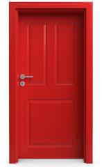 die rote Tür