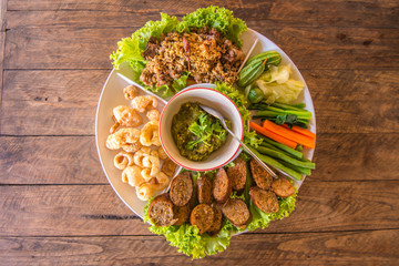 Northern of Thailand's Appetizer