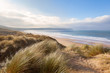 Sand Dunes and Woolacombe Beach - 75128584