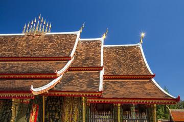 Art of thai temple roof