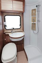 Camper toilet