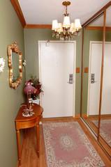 Entrance of an condominium.