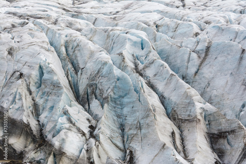 Svinafell Glacier, Vatnajokull national park, Iceland - 75135508