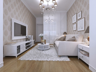 guest room modern style
