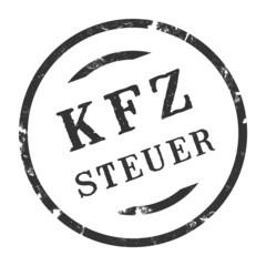 sk242 - Stempel Rund - Kfz-Steuer - kfz3 g2730