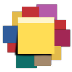 Post-it multicolores