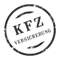 sk243 - Stempel Rund - Kfz-Versicherung - kfz4 g2731