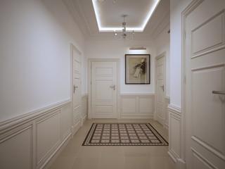 Hall corridor classic style