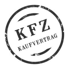 sk244 - Stempel Rund - Kfz-Kaufvertrag - kfz5 g2732