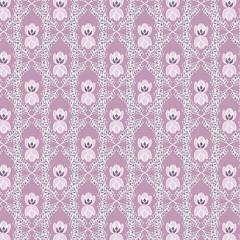 plant pink seamless pattern