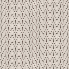 Abstract seamless beige wallpaper vector pattern.