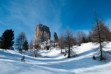 New Year in the Dolomites