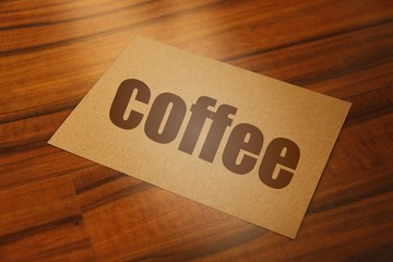 just coffee...