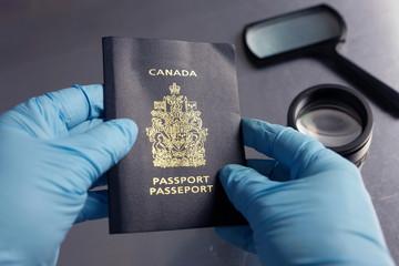 Counterfeit passport