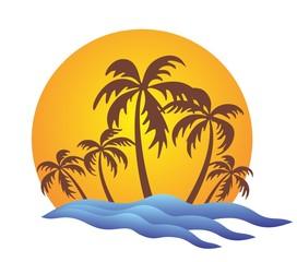 Остров с пальмой