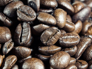 Macro coffee