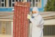 Leinwanddruck Bild - Bonifica amianto