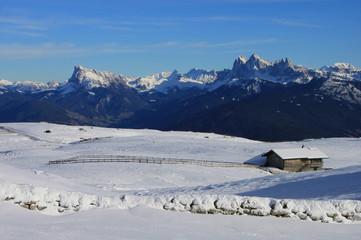 Panorami dal Renon, Alpe di Villandro