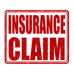 Insurance claim stamp