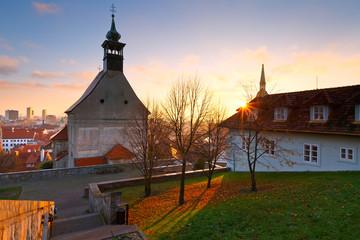 Old town of Bratislava, Slovakia.