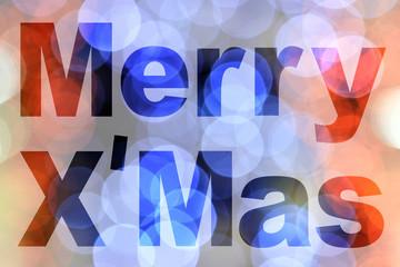 word merry x'mas