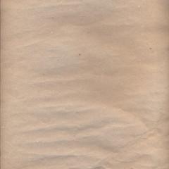 Antique brown crumpled paper texture