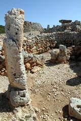 Prehistoric settlement of Trepuco,  Minorca,Spain