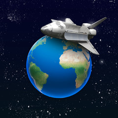 Shuttle su terra