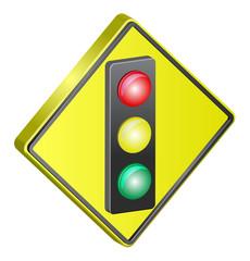Traffic Light street sign
