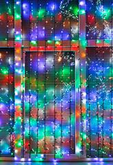 outdoor Xmas illumination decorate window