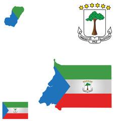 Republic of Equatorial Guinea Flag