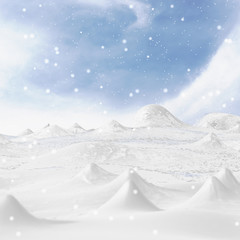 Snowy Mountain.