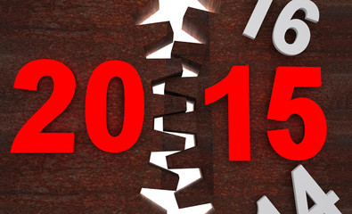 2015 gear rust - happy new year change time machine
