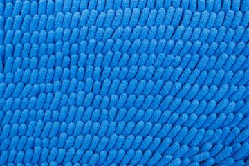 Background beautiful blue carpet fiber