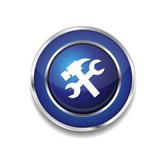 Tools Blue Vector Icon Button