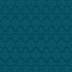 Seamless abstract indian pattern