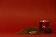 Weihnachtliches Teelicht