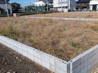 再開発中の都内の住宅分譲地