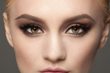 Closeup of eye makeup - 75160711