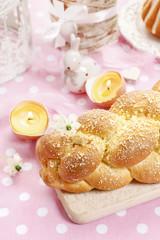 Loaf of sweet bread